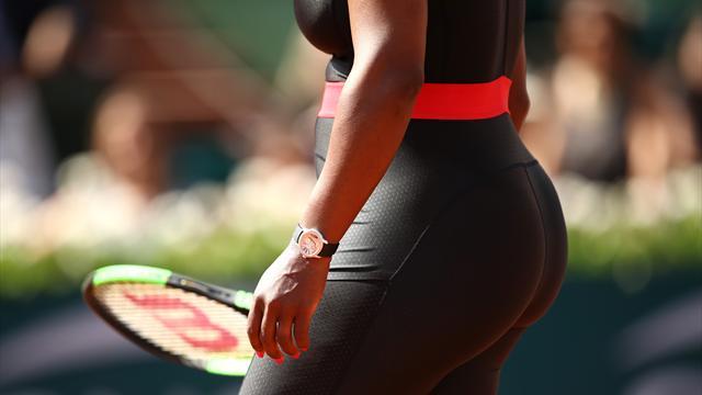El espectacular vestido de Serena Williams que homenajea a las madres y mujeres