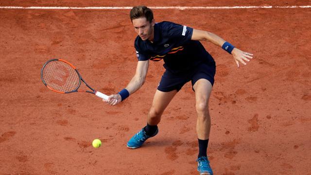 Le Palois Jérémy Chardy l'emporte face à Tomas Berdych — Roland Garros