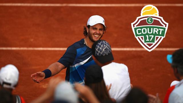 «L'histoire de Trungelliti, c'est ça aussi le tennis professionnel»
