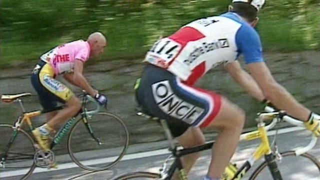 20 anni fa, l'impresa di Marco Pantani a Oropa: la grande rimonta dopo il salto di catena