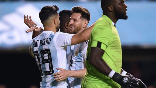 Messi'den hat-trick'li Dünya Kupası provası