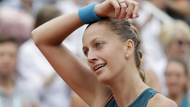 Kvitova lines up Buzarnescu meeting in Birmingham semis