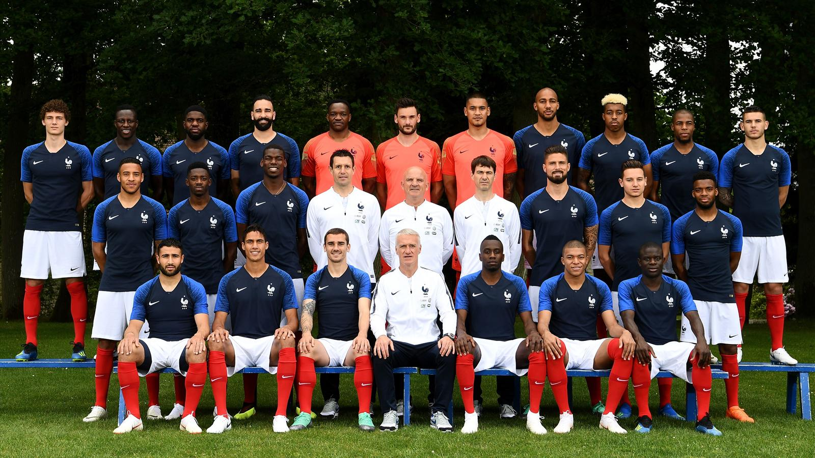 Video coupe du monde les 23 joueurs fran ais champions du monde 2018 coupe du monde - France football gratuit ...