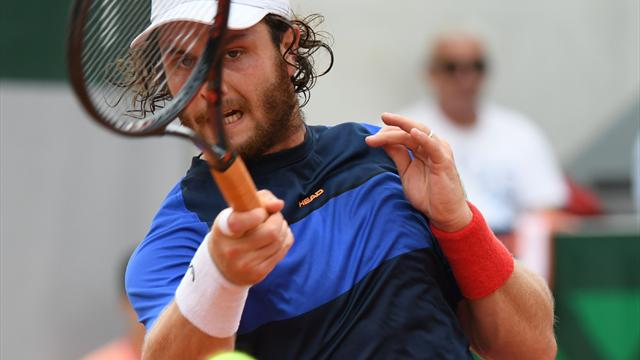 Gilles Simon a du mal face à Sam Querrey — Roland-Garros