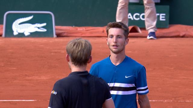 Dimitrov éliminé à Roland-Garros:
