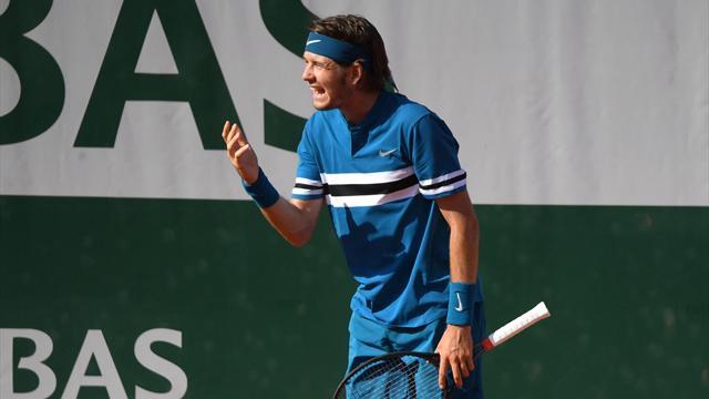 Grigor Dimitrov sorti par Fernando Verdasco au troisième tour — Roland-Garros