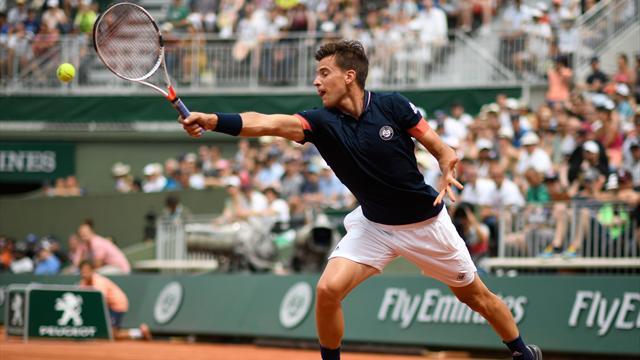 Le choc Thiem - Zverev à Roland-Garros en direct
