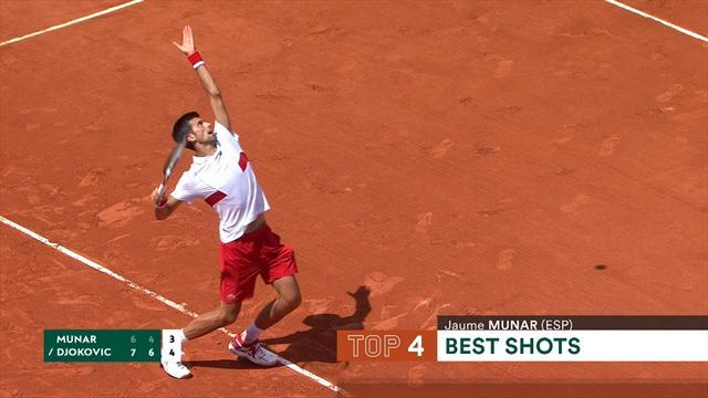 Dagens 5 bästa från Roland Garros