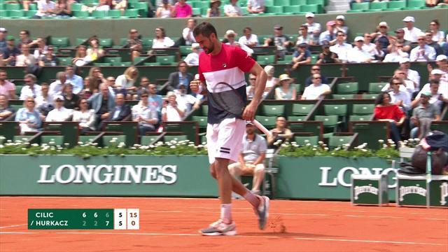 Marin Cilic kæmper sig til sejr over Hurkacz