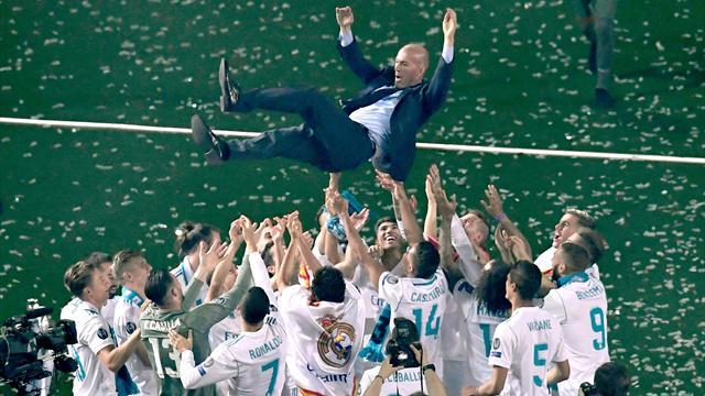 De Sergio Ramos à Marcelo, les joueurs du Real ont rendu hommage à Zidane