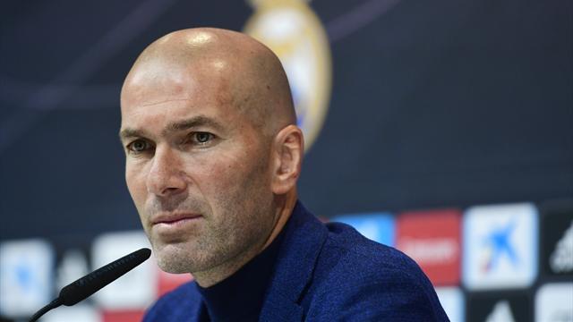Le moment où Zidane a annoncé son départ du Real