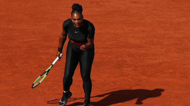 Serena Williams, en mode diesel