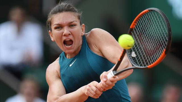 Halep hits back to sink Kerber in quarter-finals