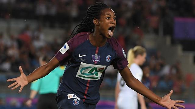 Sombrero du droit, demi-volée du gauche : Katoto a offert la Coupe de France au PSG avec la manière