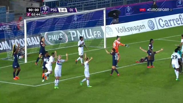Le match aura été fou jusqu'au bout : le but refusé à l'OL à la dernière seconde en vidéo