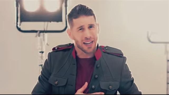 Carton jaune ? Sergio Ramos chante à gorge déployée dans un clip pour la Roja