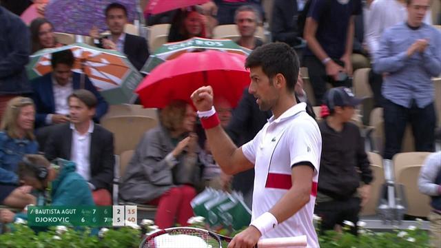 Djokovic måtte kæmpe hårdt mod Bautista-Agut