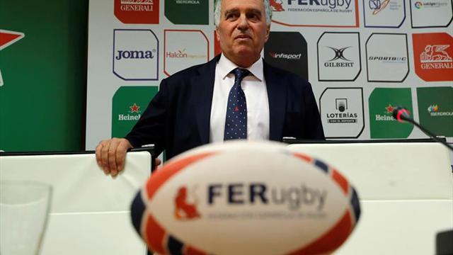 Alfonso Feijóo, presidente de la FER, compareció ante el tribunal de apelación