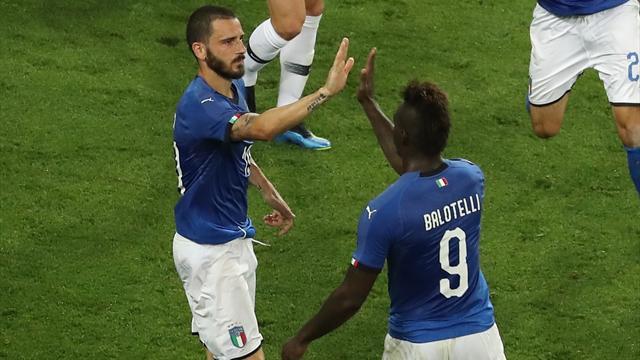 Bonucci n'a pas pardonné l'erreur de Lloris : le but de l'Italie en vidéo