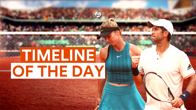K.O. technique, Djokovic, volée aveugle : revivez la timeline de vendredi