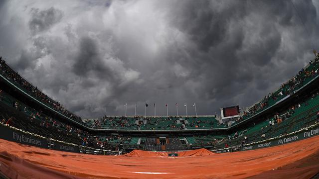 Le coup de coeur de Mouratoglou ? «La pluie» !