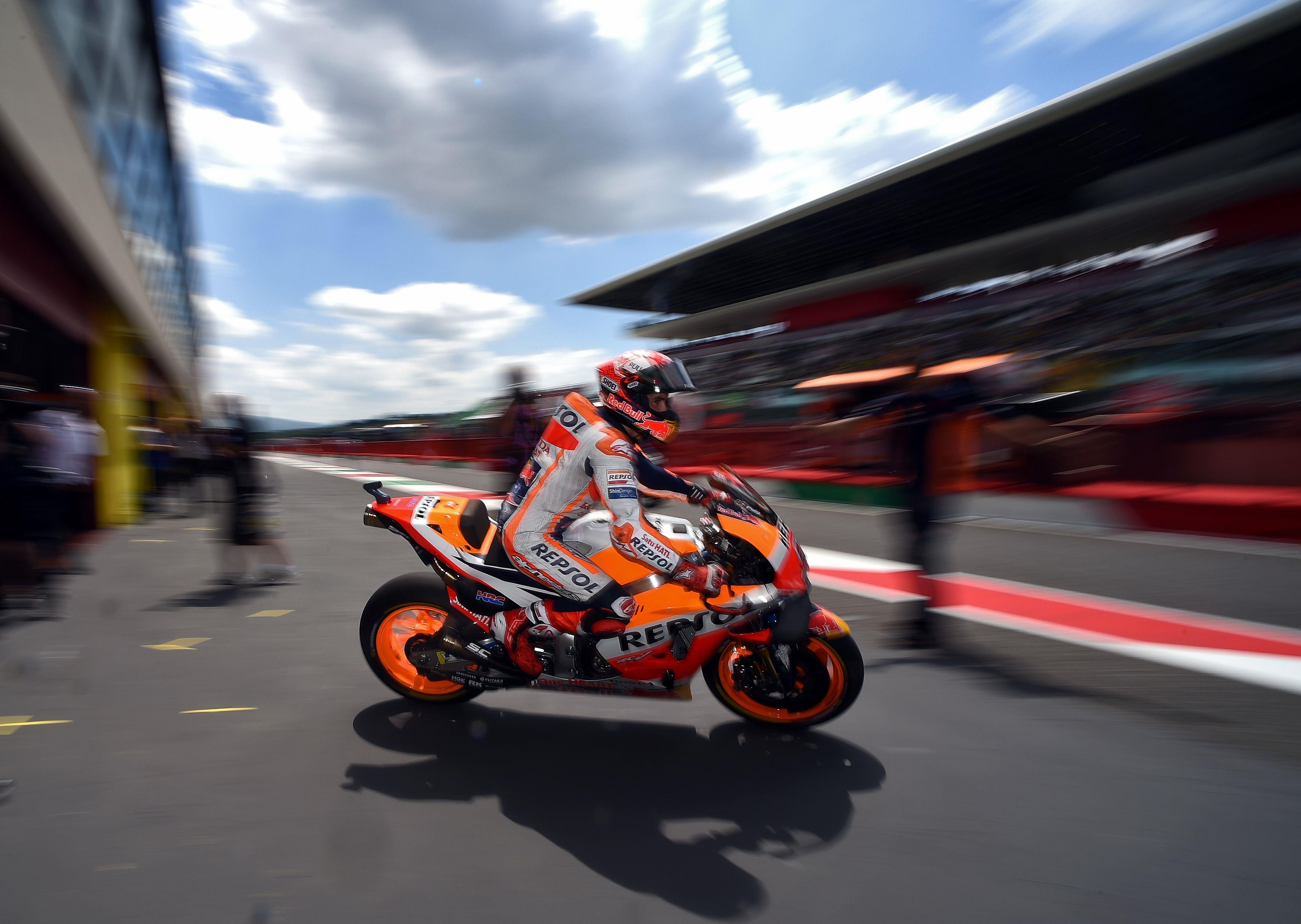 Marc Marquez (Honda HRC) au Grand Prix d'Italie 2018