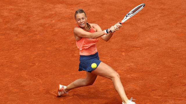 'Not Maria Sharapova', but Kontaveit dumps out Kvitova to reach last 16
