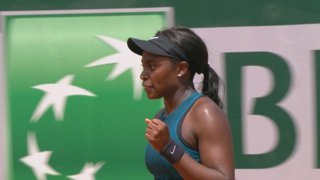 Roland Garros 2018,Giorgi vs Stephens: Partidazo de órdago (6-4, 1-6 y 6-8)