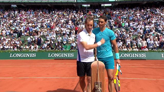 Nadal était encore trop fort pour Gasquet : Les temps forts d'un match à sens unique