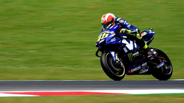 Der große Moment: Hier erobert Rossi die Pole