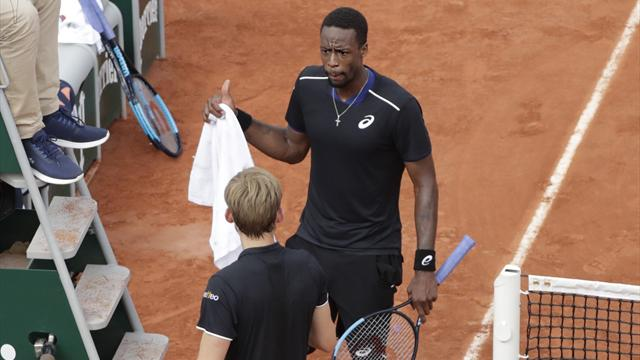 Monfils : « David a été top, c'est un grand champion »