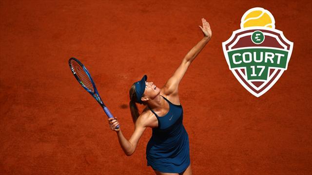 «La détermination de Sharapova peut l'emmener au bout»