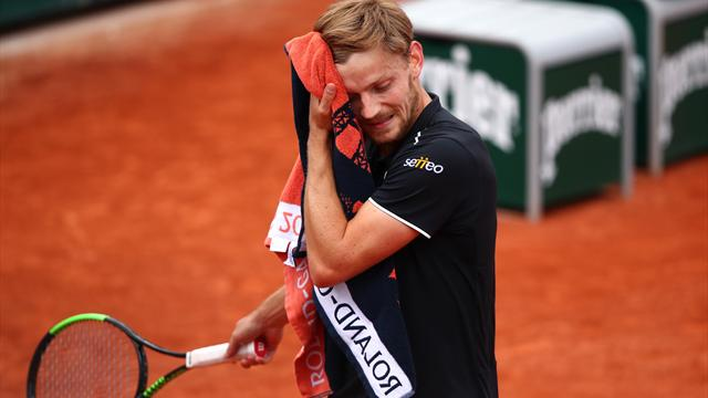 Roland-Garros: l'inattendu Italien Cecchinato passe en demi-finale en battant Djokovic