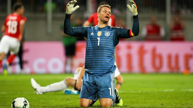 Un bon Neuer, mais trop d'erreurs pour la Mannschaft
