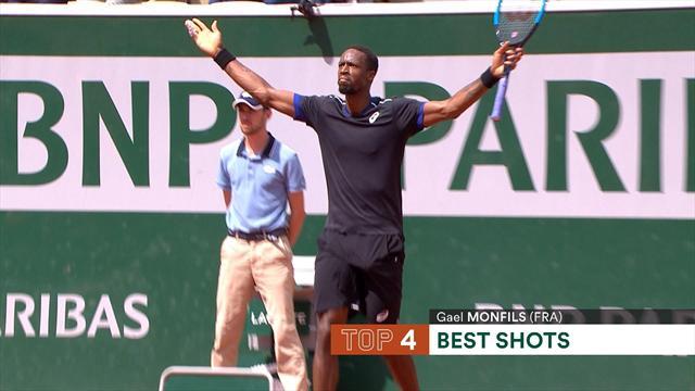 Roland Garros 2018, Top 5: Edmund, un gigante en la red, protagonista de la jornada