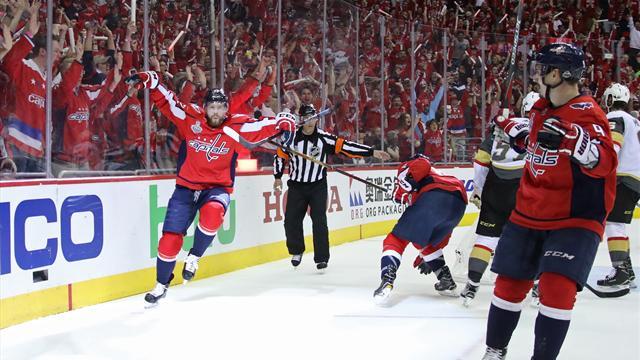 Washington a une main sur la Stanley Cup