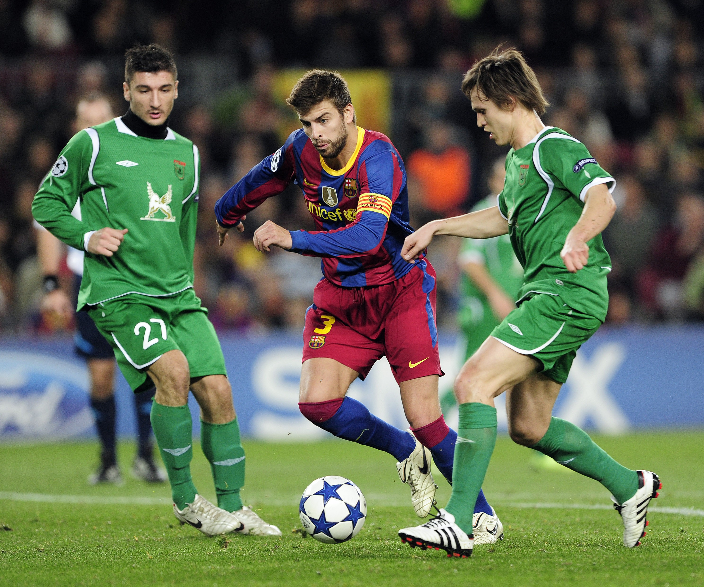 «Рубин» – «Барселона», 2010