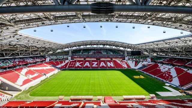 Президент Татарстана обсудил с Чеферином проведение в Казани Суперкубка Европы