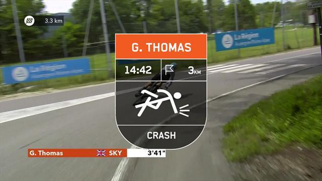 Dauphiné2018: Sky, gran protagonista, de la caída de Geraint Thomas a la victoria de Kwiatkowski