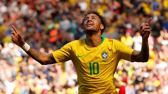 Neymar returns with brilliant solo goal against Croatia