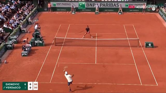 Palermo, il miracolo di Cecchinato, batte Djokovic a Parigi