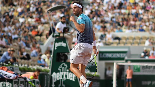 Goffin lobé, Djokovic fusillé : le top 5 des points de dimanche
