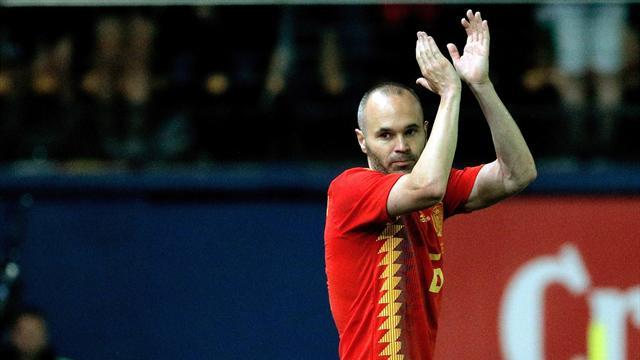 Iniesta no descarta seguir jugando con la Selección tras el Mundial
