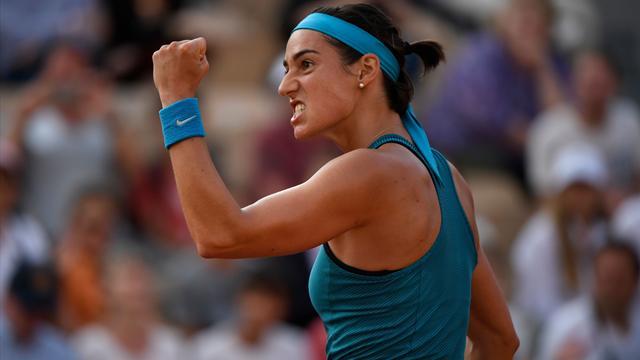 Le programme de lundi : Garcia, Nadal et le choc Williams-Sharapova