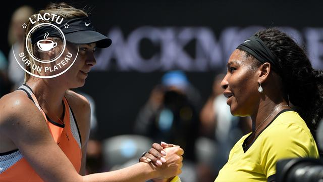 Curry, Nadal, Williams - Sharapova : L'actu sur un plateau