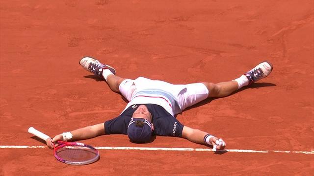 Nadal a égalisé à un set partout (DIRECT) — Roland-Garros