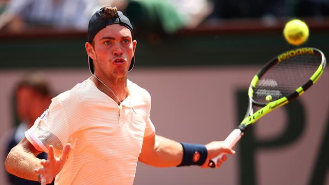 Les matches interrompus par la pluie, Nadal en difficulté — Roland-Garros