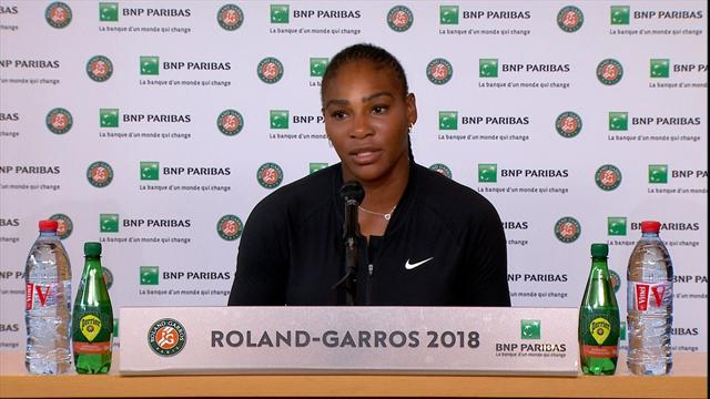 'This is so painful' - Serena's emotional injury press conference
