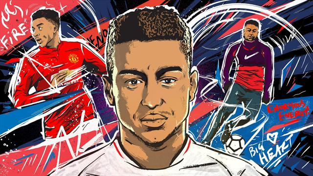 The making of Jesse Lingard