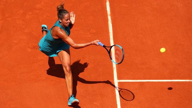 Keys sees off Siniakova to reach quarter-finals